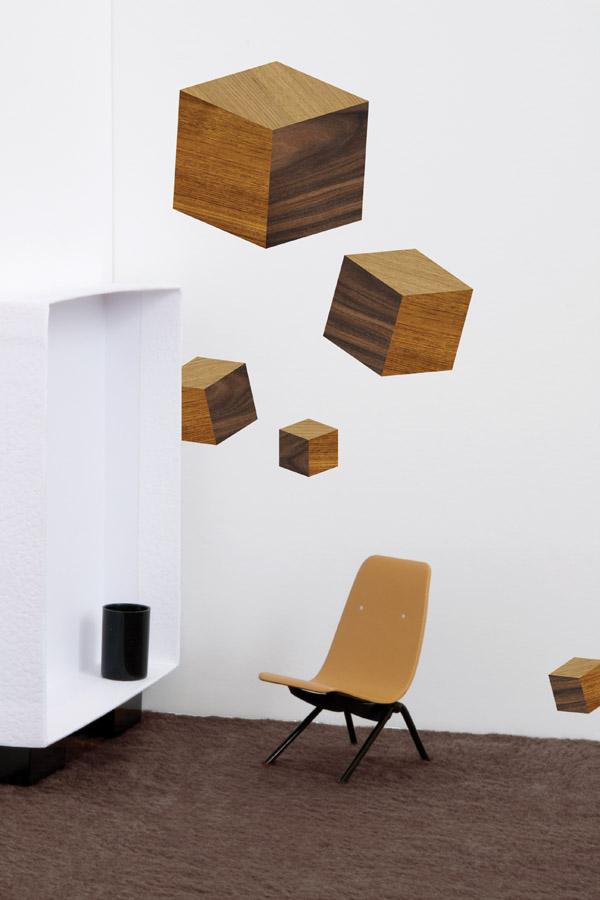 touche du bois / cubes by Domestic