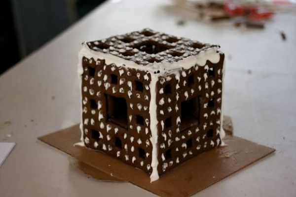 Fractal Gingerbread House