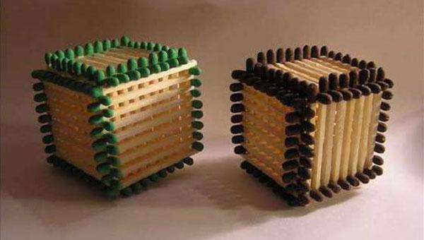 Matchstick Cube