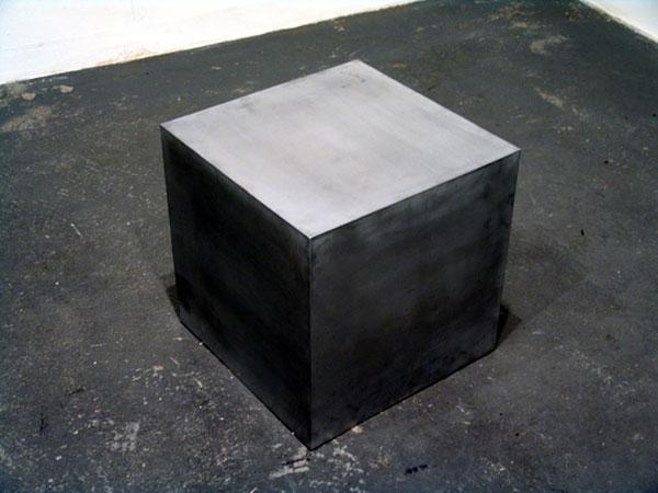 Shaking Cube - 2004 - Jeppe Hein