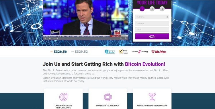 Bitcoin Evolution Scam