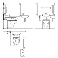 Toilette Dwg