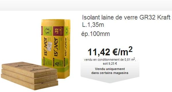 Isolation La Laine De Verre Brico Depot