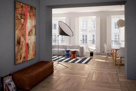 les nouveaut s et tendances 2013 en carrelage imitation parquet blog carrelage. Black Bedroom Furniture Sets. Home Design Ideas