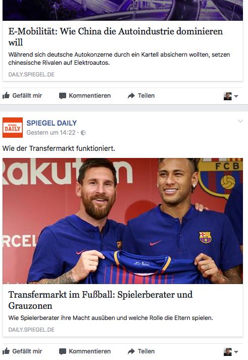 Spiegel Daily