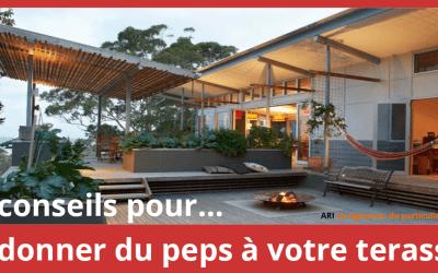 5 conseils pour redonner du peps à votre terrasse.