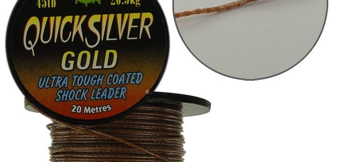 tresse Quicksilver Gold de chez Kryston