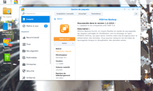 Synology - update HiDrive