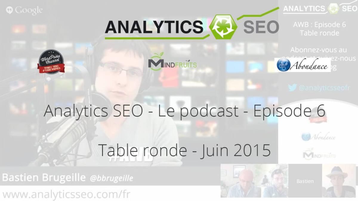 Web bistro d'Analytics SEO – 6ème édition