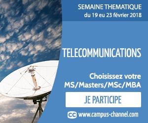 Vous êtes intéressé par une spécialisation en Télécommunications ?
