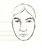 visage bien proportionné