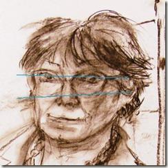 portrait fusain atelier