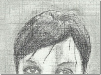 correction portrait femme cheveux