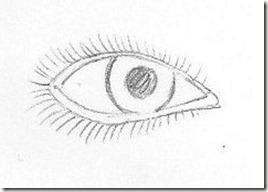 Dessin Oeil Simple