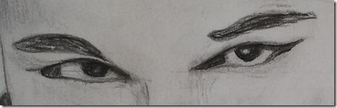 correction dessin lili yeux