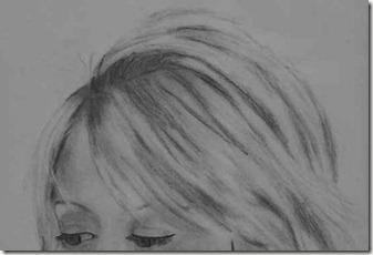 dessin cheveux 1