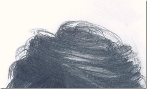 portrait cheveux