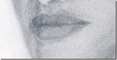 portrait lèvres