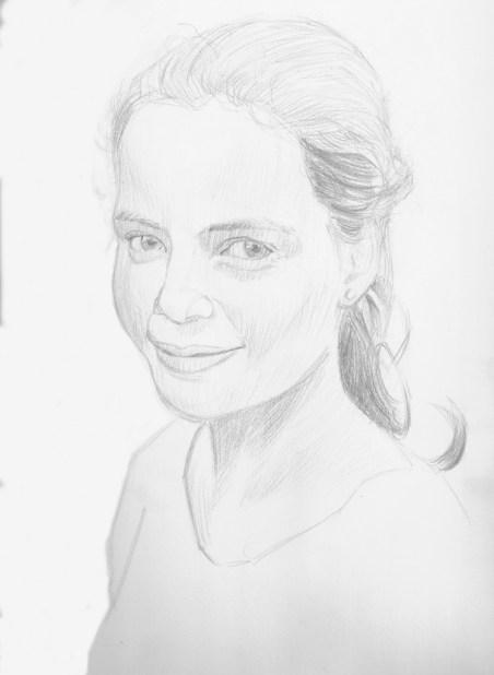 dessiner un visage au crayon