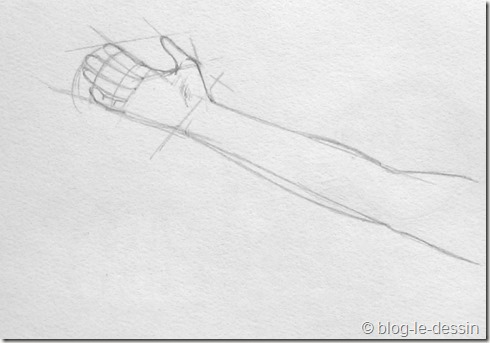 dessiner une main 2