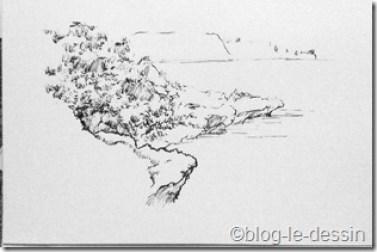 dessiner en voyage Nouvelle-Calédonie