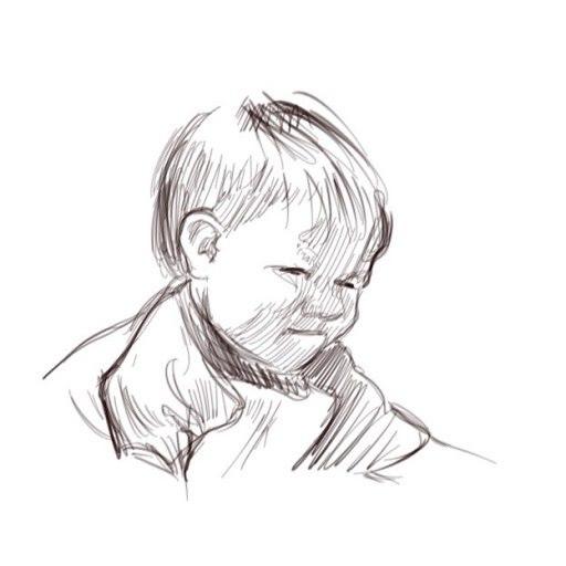 portrait de bébé