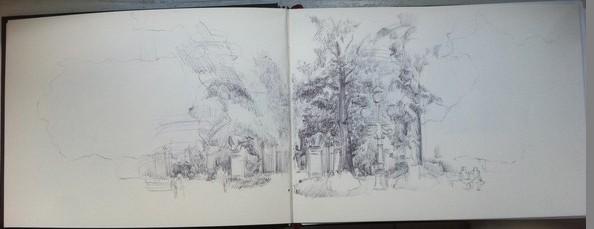 dessiner paysage