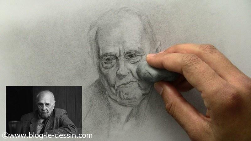 comment dessiner un vieil homme la gomme mie de pain