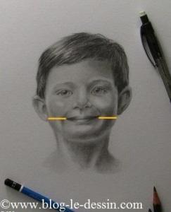 dessiner une bouche exemple ecarts avec joues