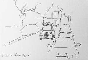 dessiner en voyage
