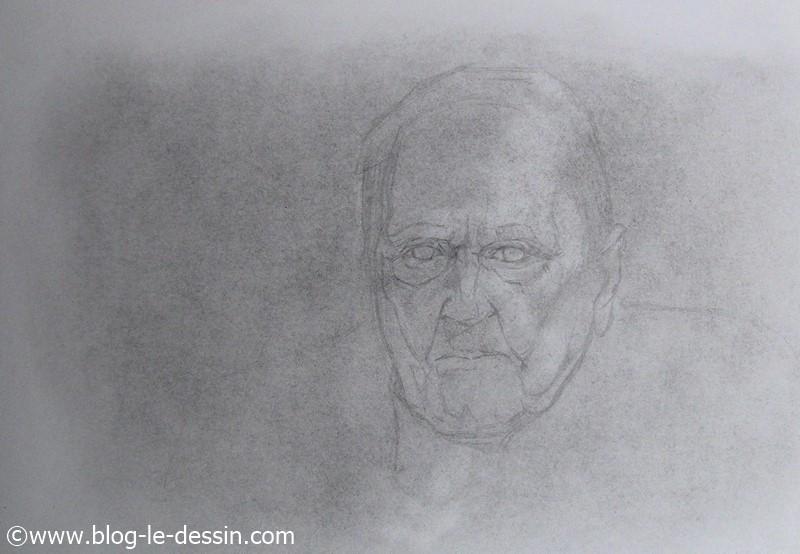 portrait vieux monsieur