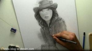 tutoriel dessiner visage fille parcours regard composition