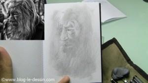 portrait vieil homme details supplementaires