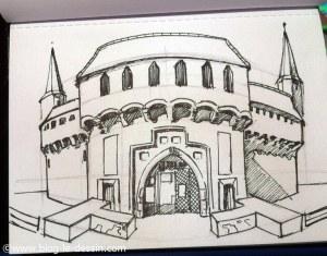 apprendre a dessiner perspective dessin encre final