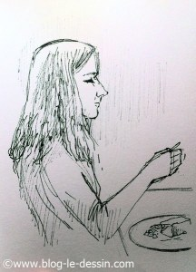 dessiner une fille contexte