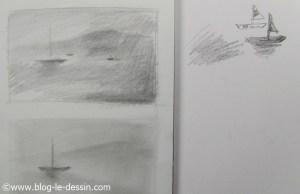 illustration pour dessiner de la brume avec style