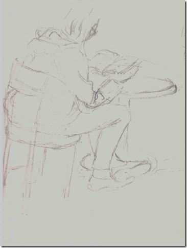 assise cours de dessin