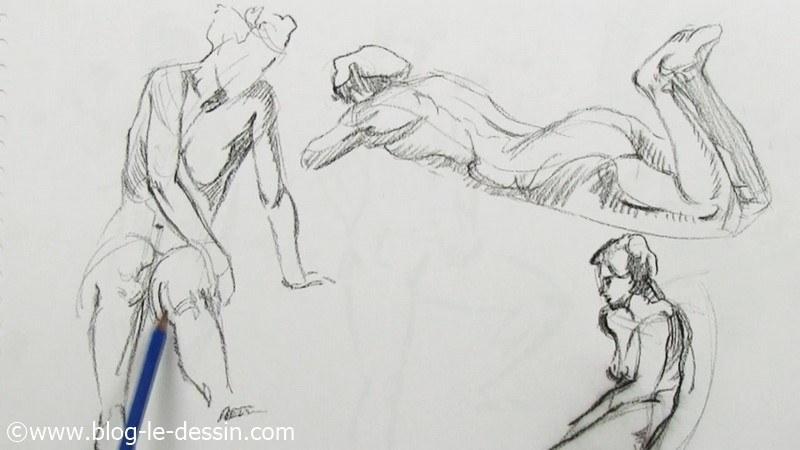 illustration dessin corps posture humain