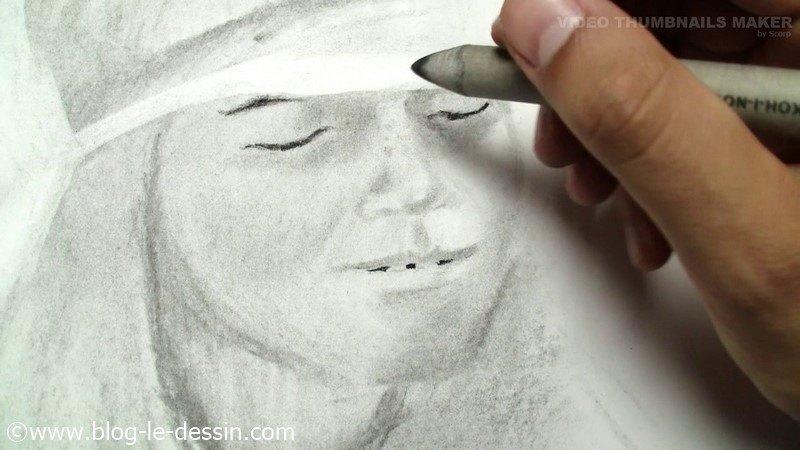 dessiner les taches de la peau