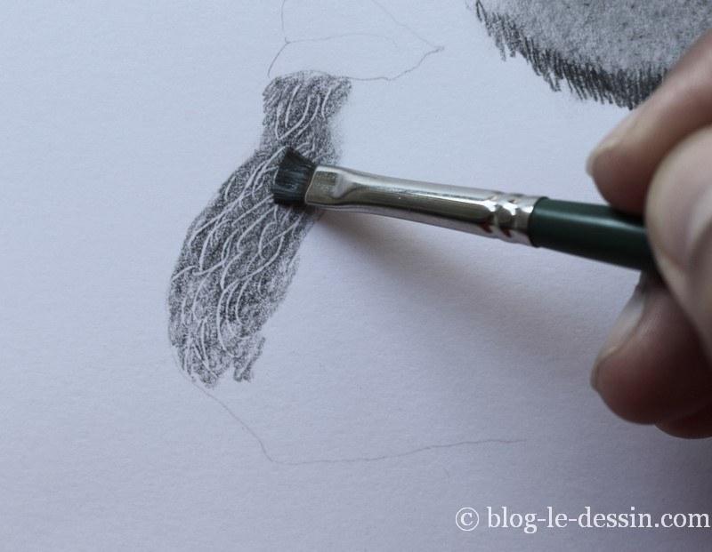 dessiner des poils réalistes