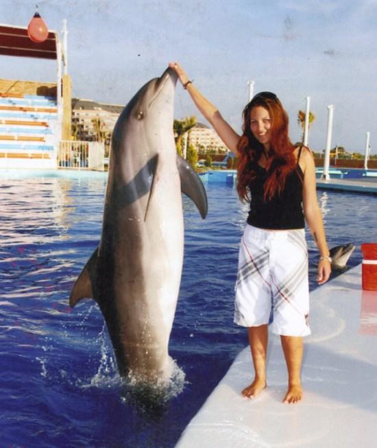 Dresseur de dauphin