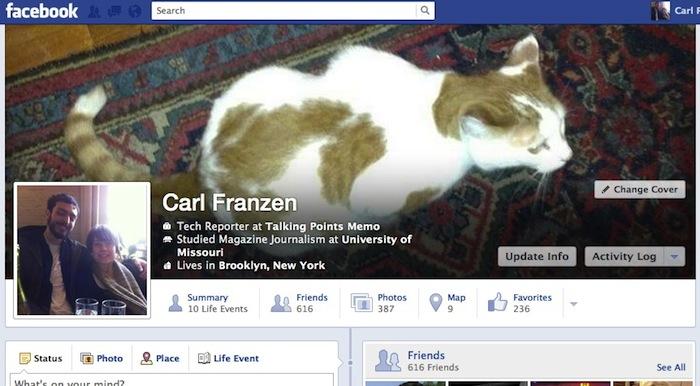 Facebook va de nouveau mettre à jour l'interface utilisateur de sa Timeline ? - Nouvelle Timeline Facebook accessible par quelques utilisateurs