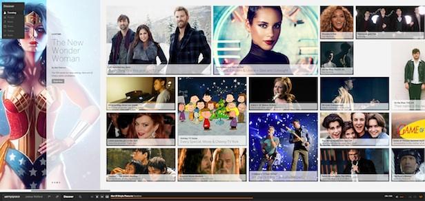 Un tout nouveau Myspace : un premier regard sur l'énorme refonte de la plateforme - Contenu rich media