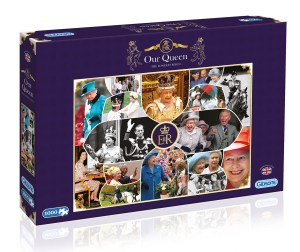 Our Queen The Longest Reign Jigsaw Puzzle by Gibsons