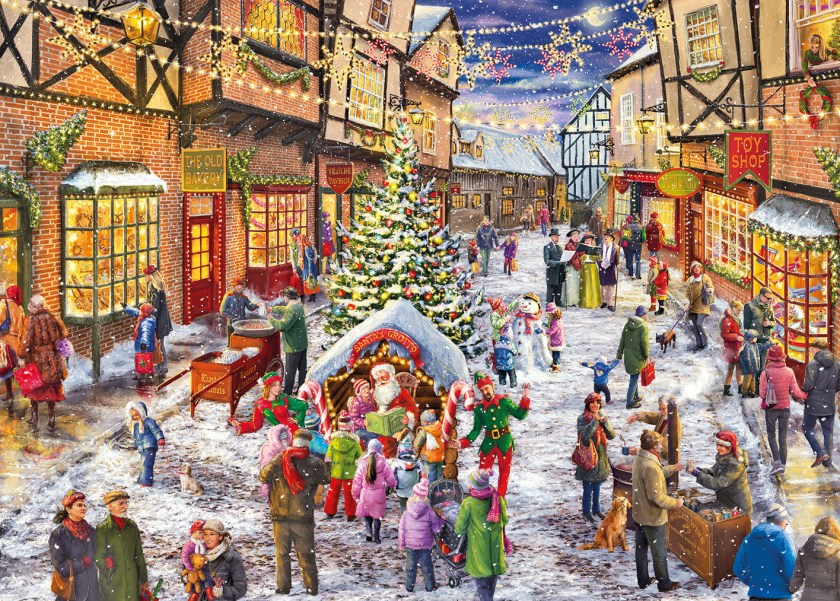 Gibsons Christmas 2016 - Limited Edition Christmas Jigsaw Puzzle