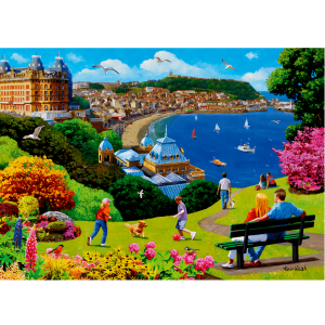 Happy Days no. 14 - Scarborough 1000 piece jigsaw puzzle