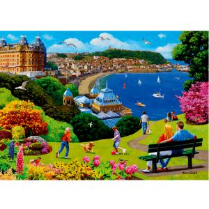 Happy Days no. 14 - Scarborough 1000 piece jigsaw puzzle