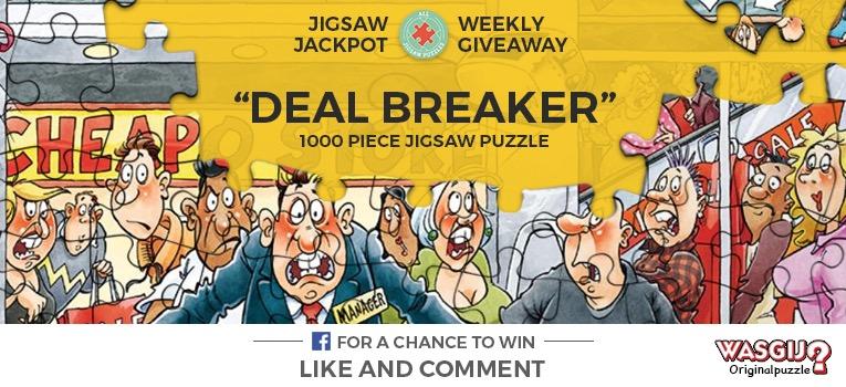 Wasgij Deal Breaker Jigsaw Jackpot