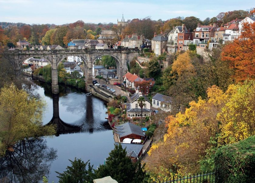 River at Knaresborough 1000 piece jigsaw puzzle