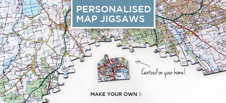 Shop Personalised Map Gifts